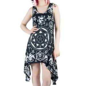 *RARE* Killstar - Occult racerback tunic dress